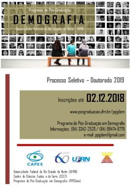 Folder Divulgacao - PS2019 Doutorado