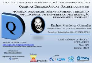 33ª QuartasDemograficas Raphael Mendonça